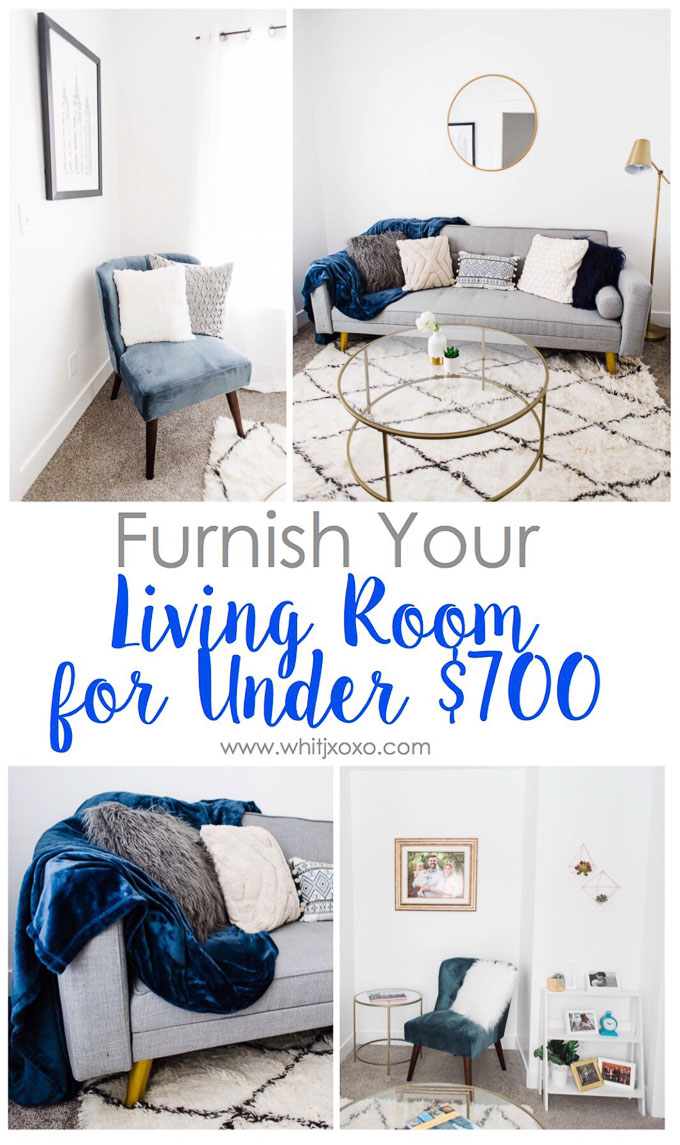 Furnish Your Living Room for Under $700 - Beauty, Baby, and a Budget