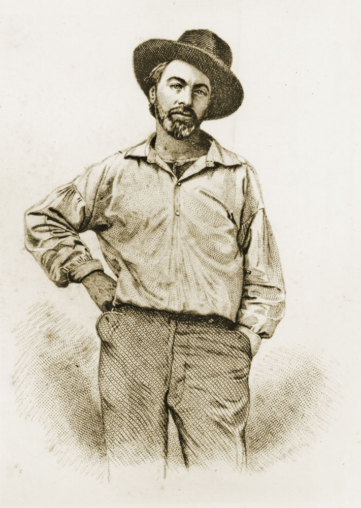 Image result for walt whitman frontispiece