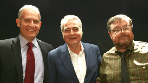 Phil Whitman with Lou Grassi, President & CEO of Grassi & Co., CPAs and Dan Hood, Editor-in-Chief, AccountingToday.