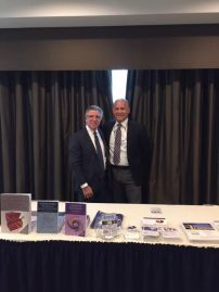 Phil Whitman with Strategic Partner, Andy Bluestone of Bluestone Killion at NJSCPAs Morris County Chapter CPE Session