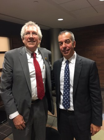 Jeff with Tom Angelo, Managing Partner of Spire Group
