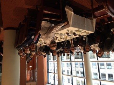 WBA Strategic Partners Table at Accountants Club of America Walt Frazier lunch