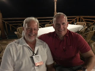 Phil Whitman with Michael Gaines, CPA, Partner, Friedman LLP in Grand Cayman at DFK International North America Annual Conference.