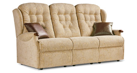 click to view sherborne lynton knuckle 3 seat fixed settee
