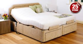 click to view the Sherborne Dorchester 6' Adjustable Bed