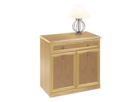 Trafalgar 2 Door, 1 Drawer Base Unit