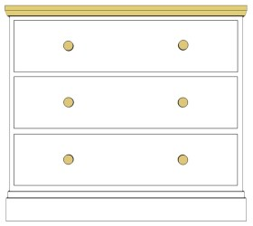 Cornish 3 Drawer