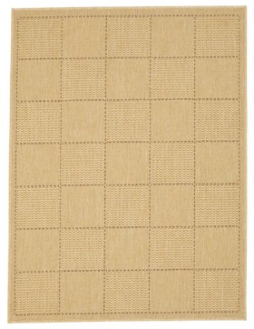 Checked Flatweave Rug