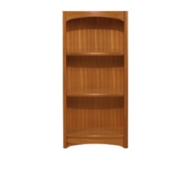 Editions Teak Mid Single Bookcase - No Top