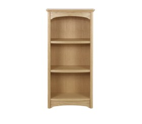 Editions Oak Mid Single Bookcase