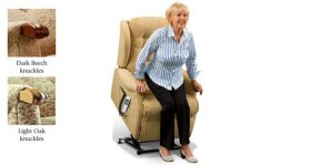 Lynton Knuckle Lift and Rise Recliner