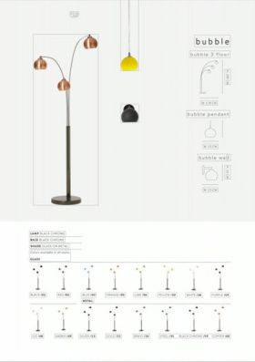 click to view danalight Bubble Floor, Pendant and Wall Lamps