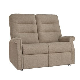 click to view the Celebrity Sandhurst 2 Seat Fixed Settee