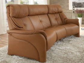 click to view himolla chester 3 seater curved sofa