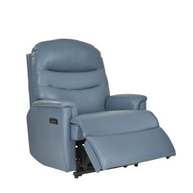 click to view pembroke grande recliner in leather