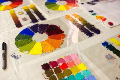 Discovering Color: 5-Day Painting Workshop, October 2019