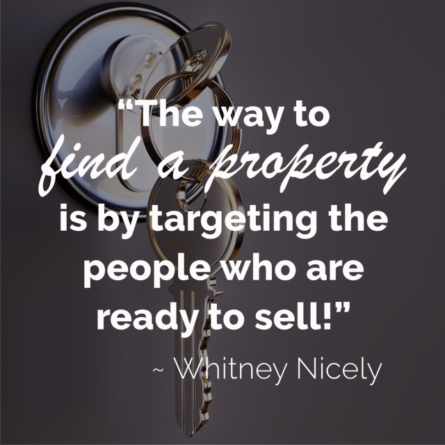 Find a property for real estate investing