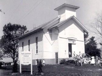 East Caledonia Undenominational Church – 1962