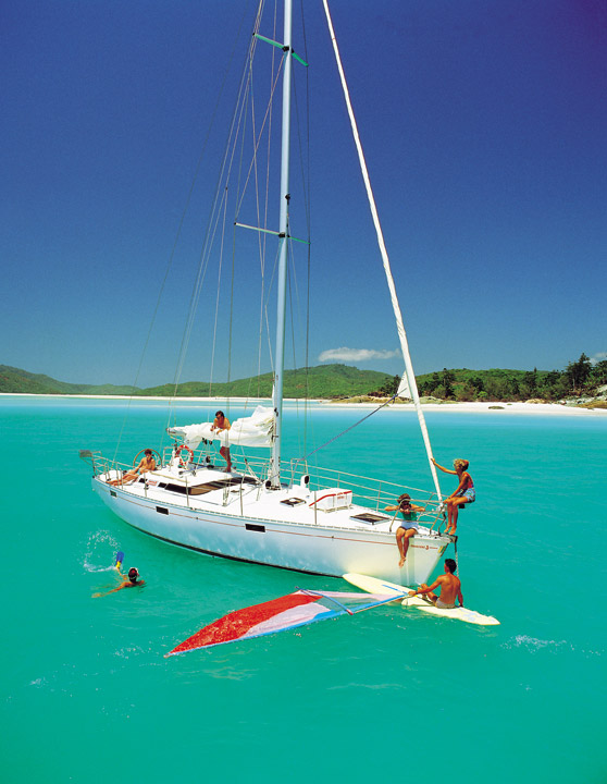 Windsurfing Picture Tour Whitsundays Australia