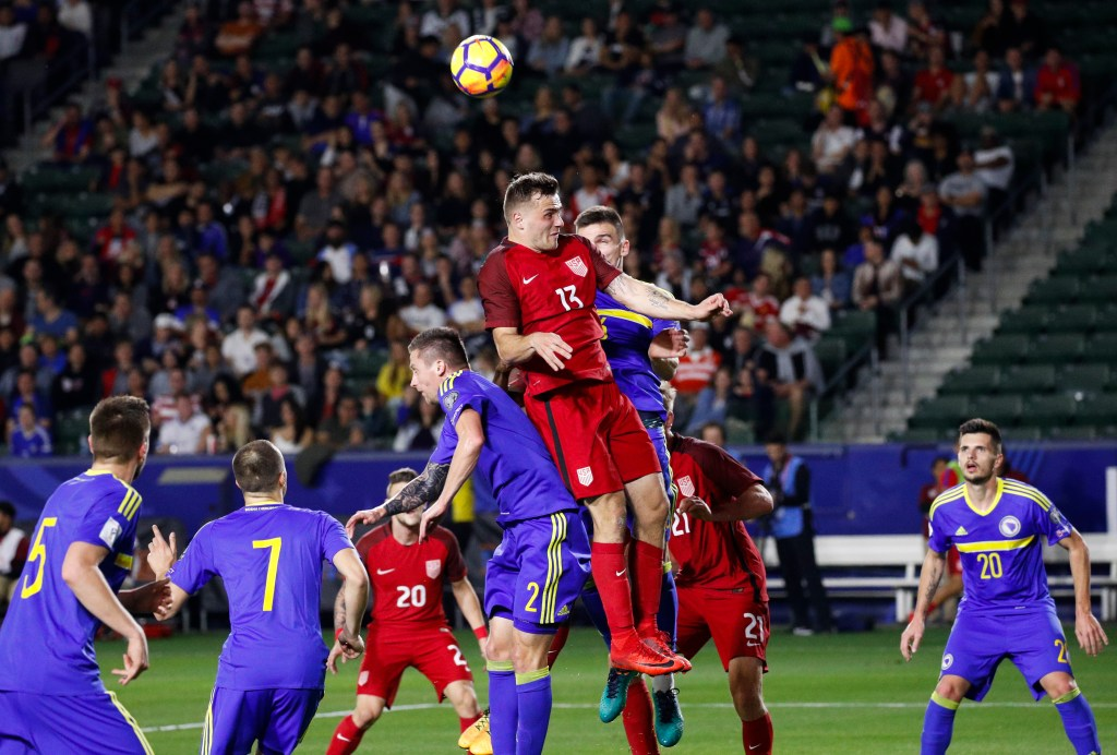 Inexperienced U.S. men's national soccer team plays to ...