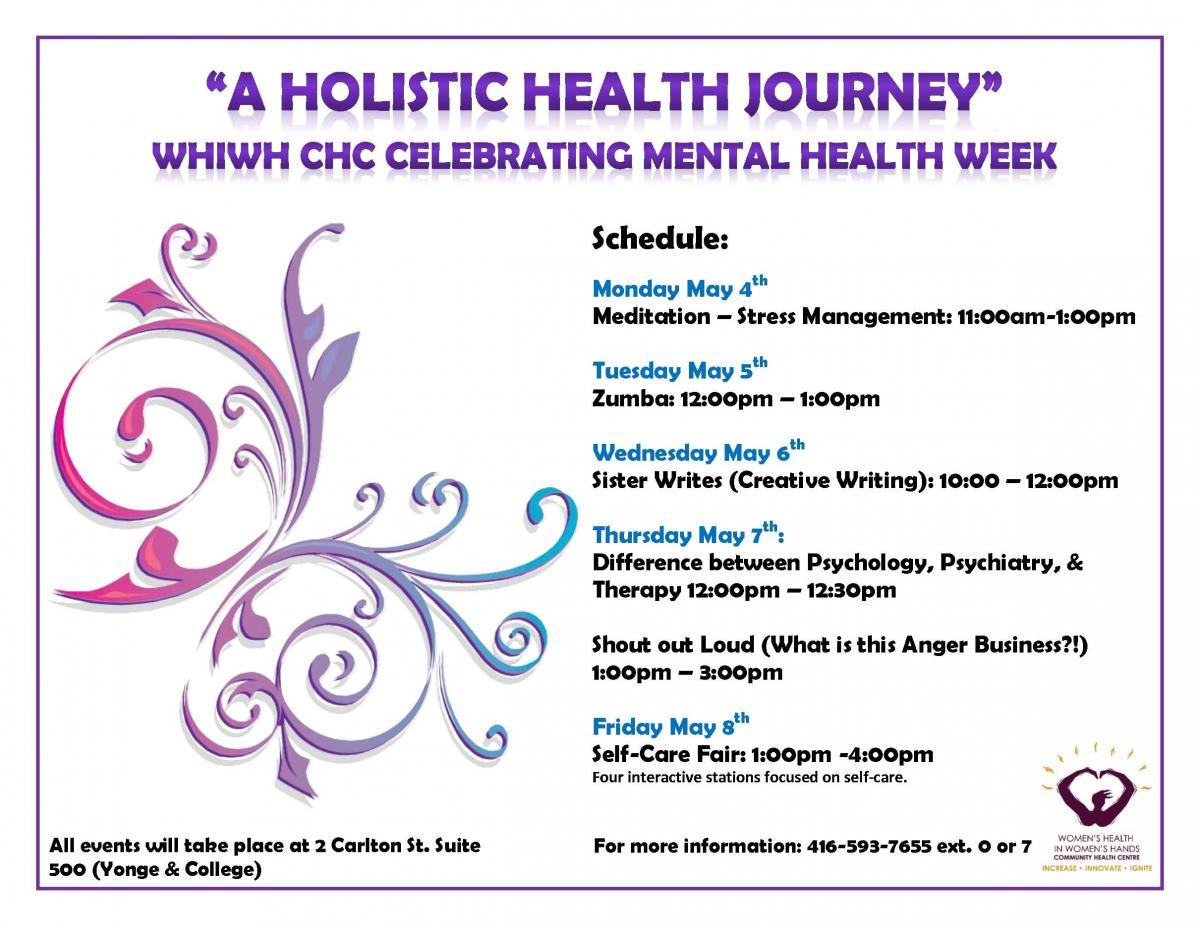 A Holistic Health Journey Self Care Fair