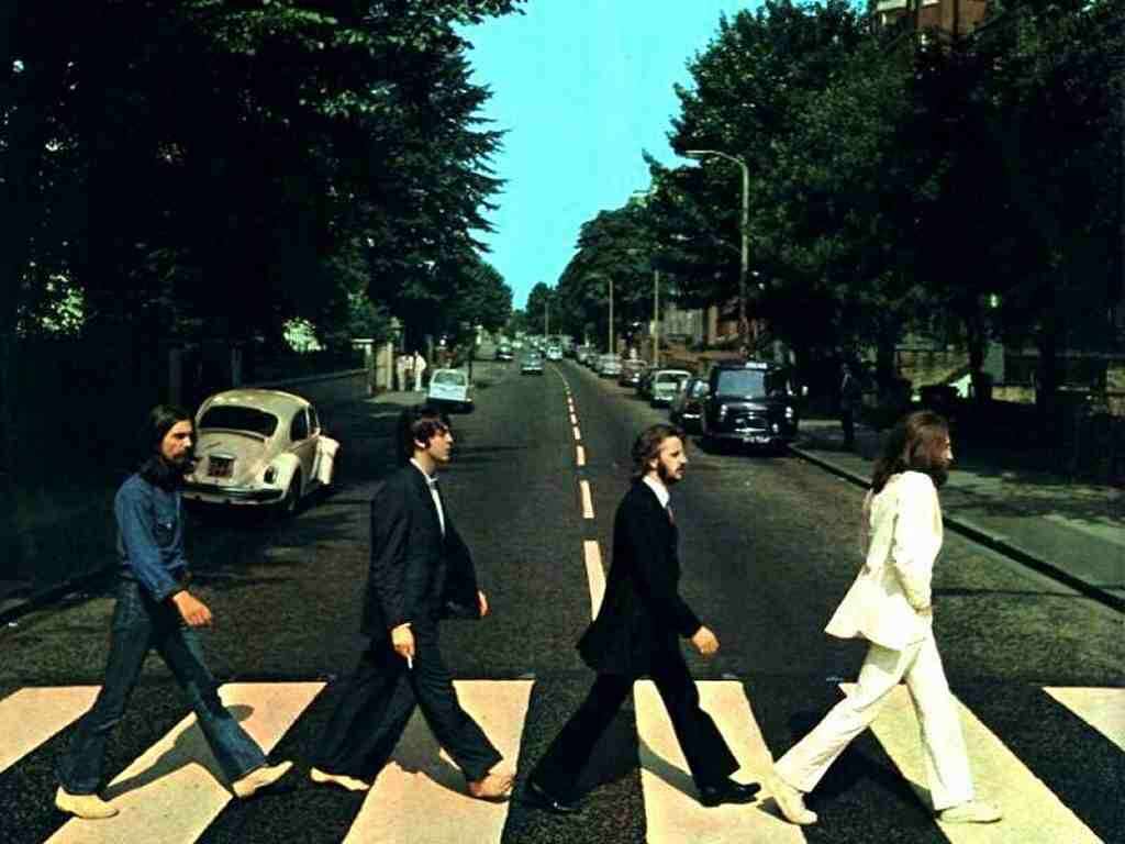Image result for abbey road album cover