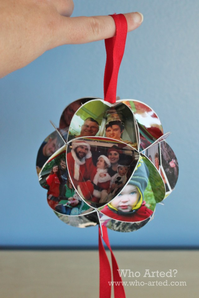 Christmas Card Ornament 13