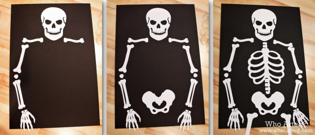 Pin the Bow on the Skeleton 02