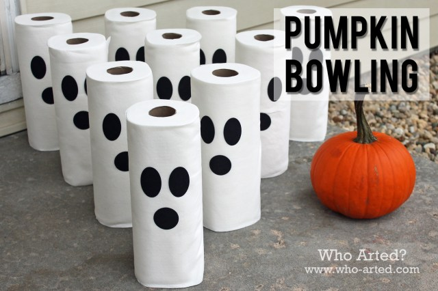 Pumpkin Bowling 07