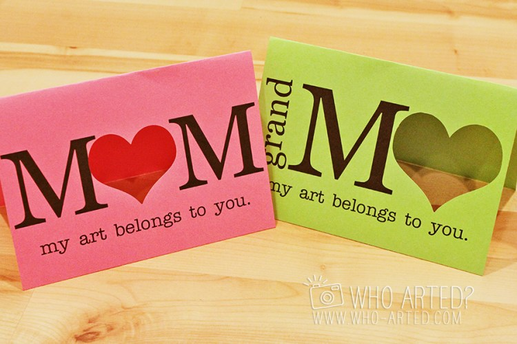 Mothers Day Card Who Arted 04