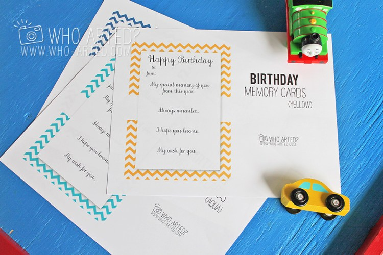 Birthday Countdown Envelopes Who Arted 03