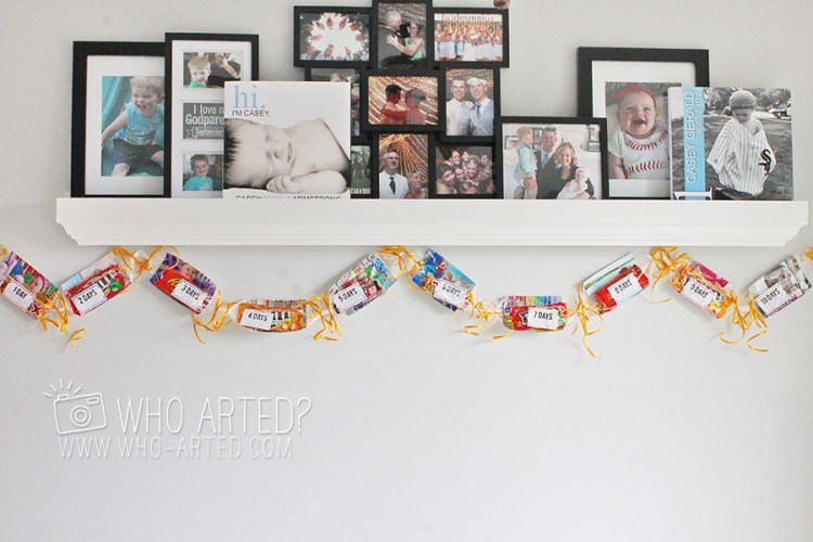 Birthday Garland Countdown Who Arted 01