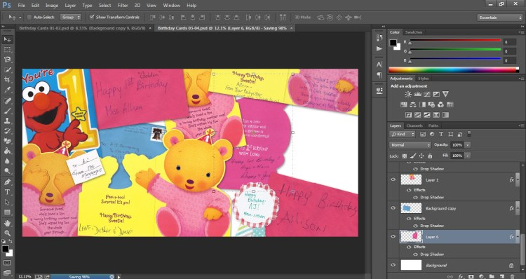 How to Scan Cards into Scrapbook Who Arted 17