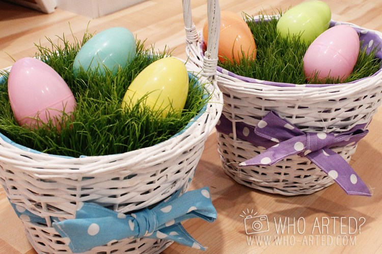 Easter Basket Grass Who Arted 02