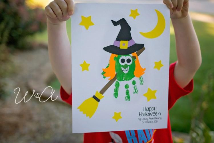 Witch Handprint Craftivity 01