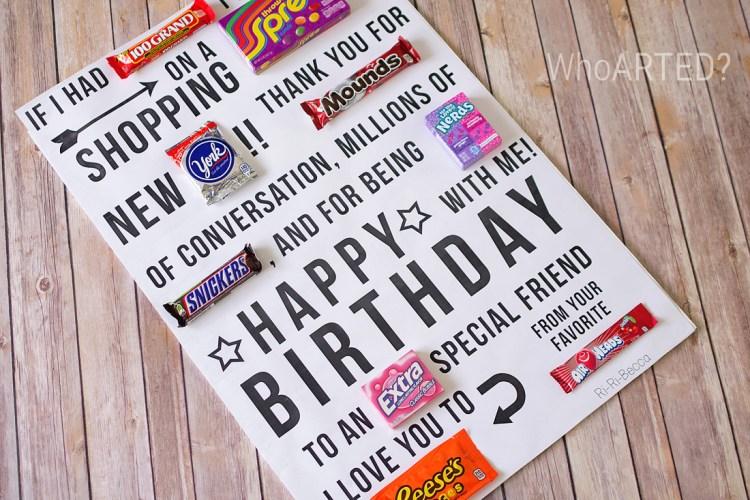 Candy Gram Birthday Card 1 04