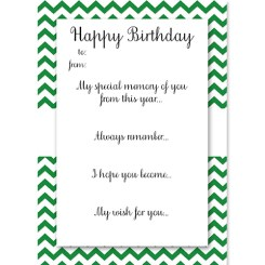 Birthday Memory Cards Green Who Arted Thumbnail