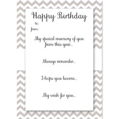 Birthday Memory Cards Silver Who Arted Thumbnail