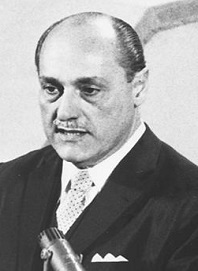 Dr Marcolino Gomes Candau served as WHO's second Director-General from 1953 to 1973.