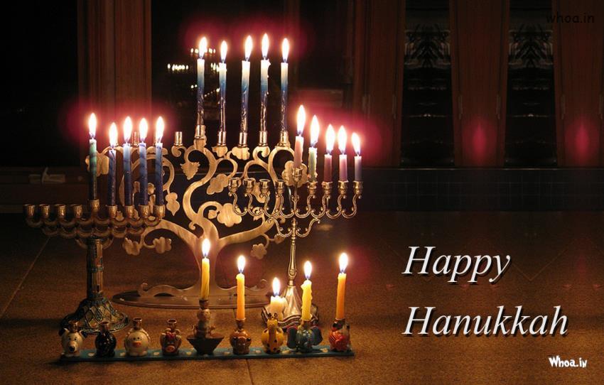 Happy Hanukkah Festival Hd Wallpaper2