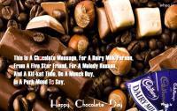 happy chocolate day dairy milk