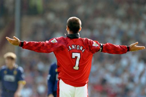 Numbers and name, #7 cantona. padirpg: Eric Cantona,, The King of Manchester ...!