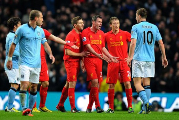 Image result for manchester city 2-2 liverpool 2013
