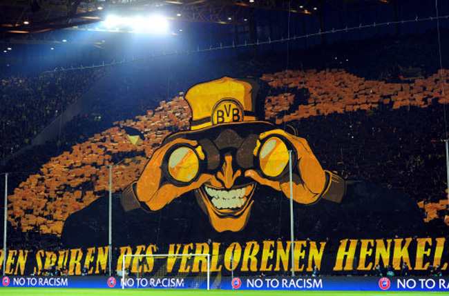 Watch the full match of chelsea's victory over man. Dortmund Fans Produce Incredible Tifo At The