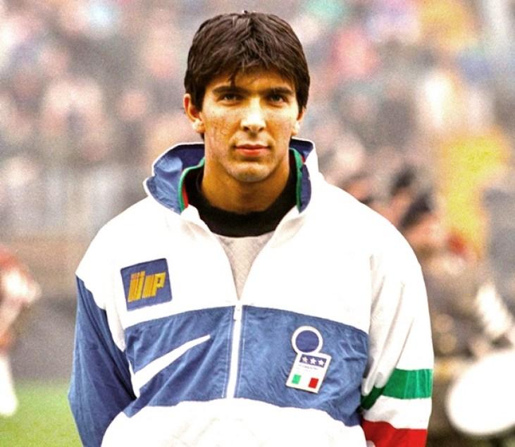 Image result for Gianluigi Buffon  in Italian Team 1997