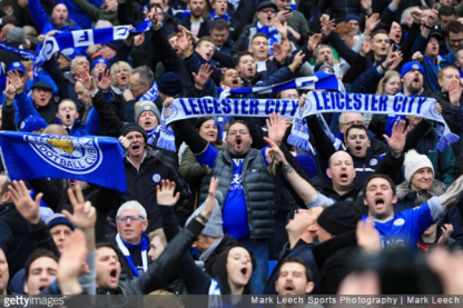 Image result for Leicester fc fans