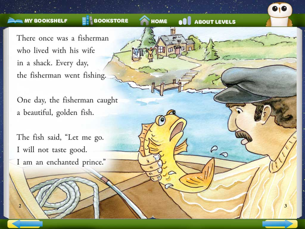 The Fisherman And The Golden Fish