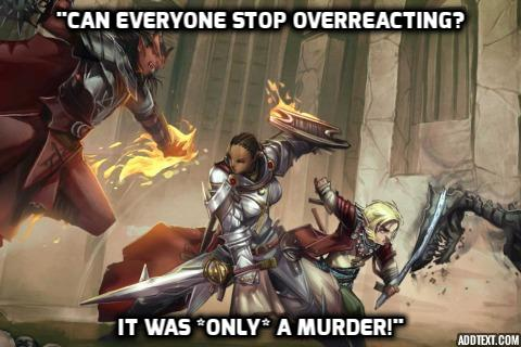 Dungeons and Dragons Behaviour
