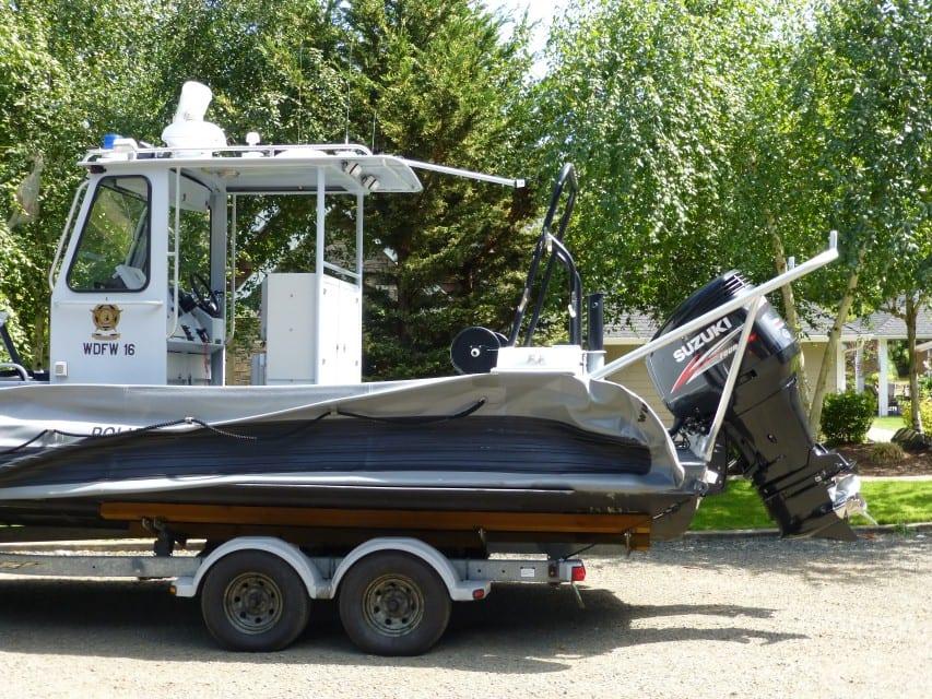 Boat Tow Bar 1