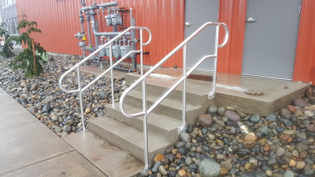 Commercial Handrailing A5